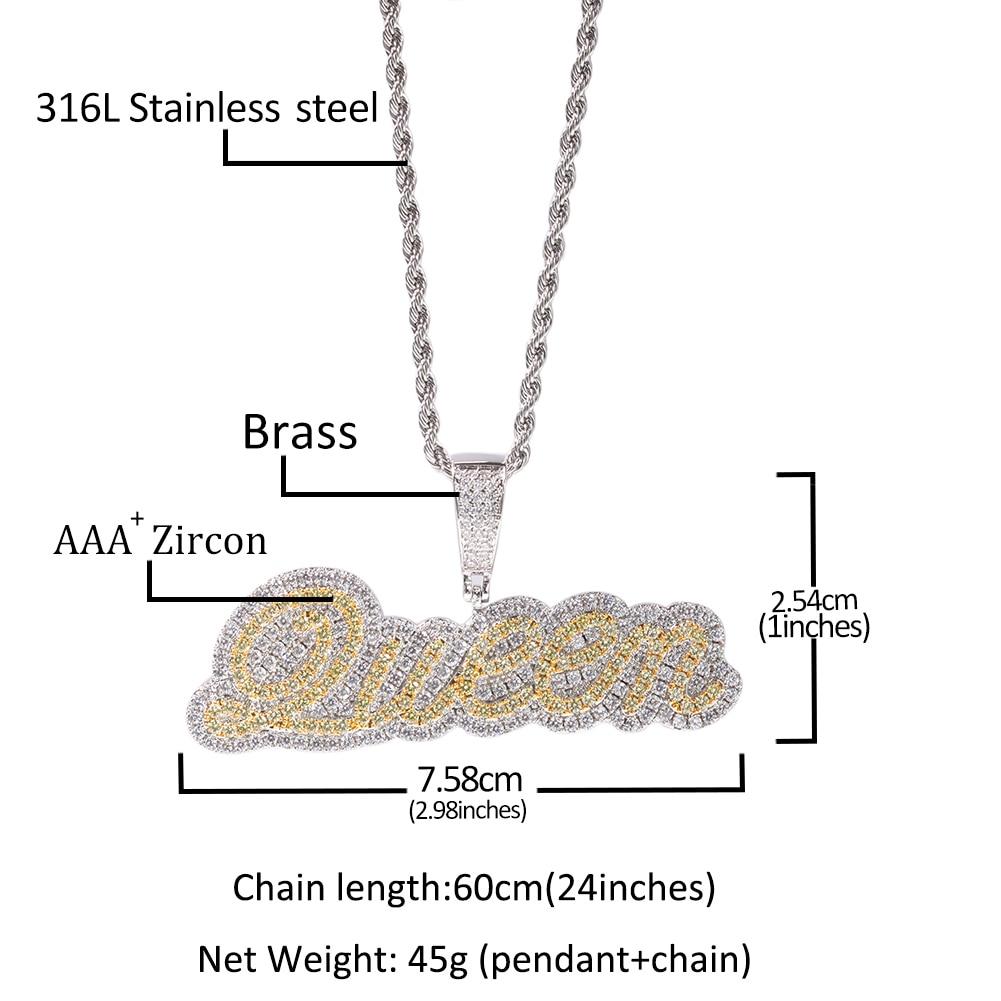 DIY Custom link 2021 Jewelry Charm Pendant For Customize Customer Zinc Alloy Any Word Can Custom