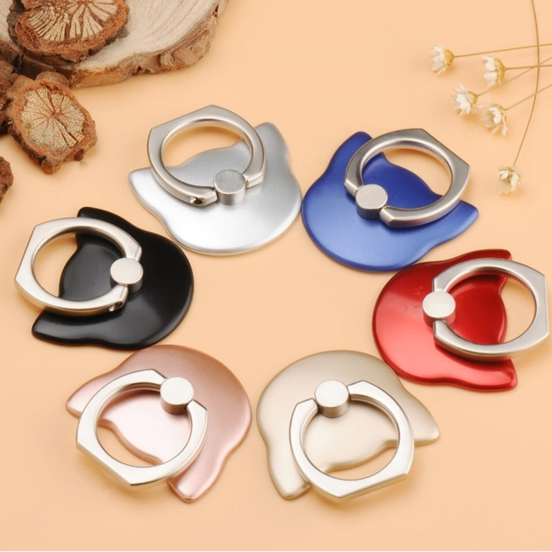 Finger Ring Mobile Phone Smartphone Stand Holder For iPhone XS Huawei Samsung cell Smart Round Phone
