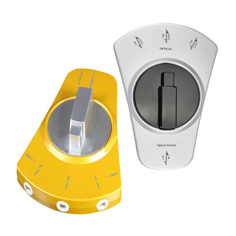 3 входа 1 выход Цифровой оптический аудио переключатель Toslink переключатель совместимый быстрая доставка гарантия