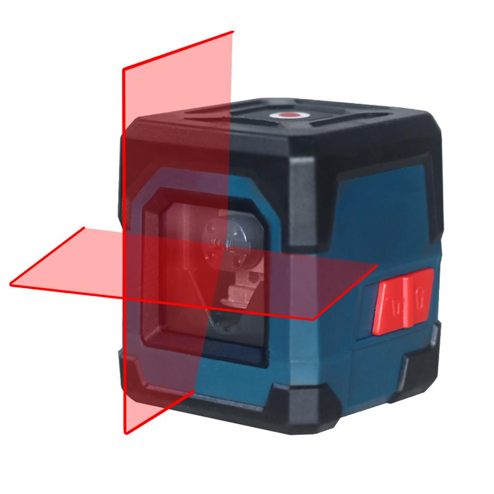 HANMATEK LV1 лазерный уровень крест-линия лазер с измерительным диапазоном 50 футов, самонивелирующаяся вертикальная и горизонтальная линия