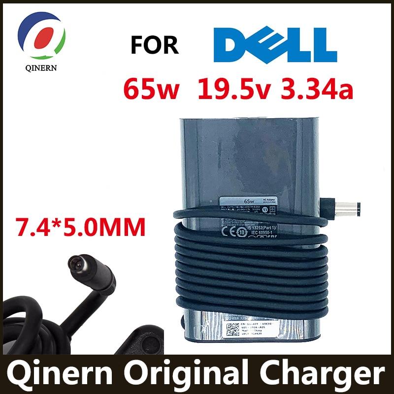 الأصلي 19.5V 3.34A 65W AC محول شاحن لديل خط العرض E5250 E5440 E5540 E5550 E6420 E6430 E6440 E6500 LA65NM130 DA65