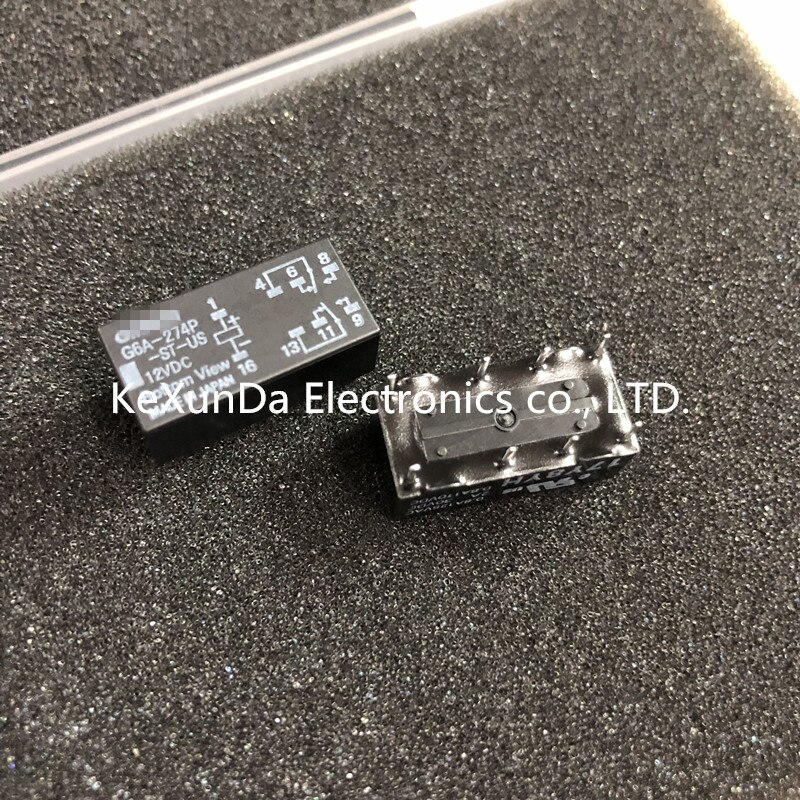 G6A-274P-ST-US-12VDC Original G6A-274P DC12VDC 100 unids/lote envío gratis