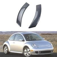 for beetle 2003 2010 carbon fiber abs car door interior handle bowl protector cover trim molding car styling