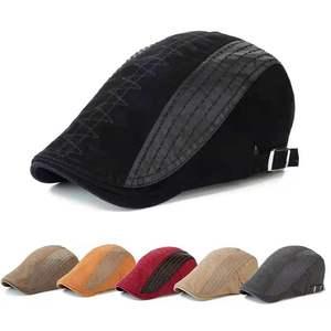 New Unisex Berets  Hat Hip Hop Cap Outdoor Snapback Cotton Hats for Women and Caps for men Adjustable casual Cap