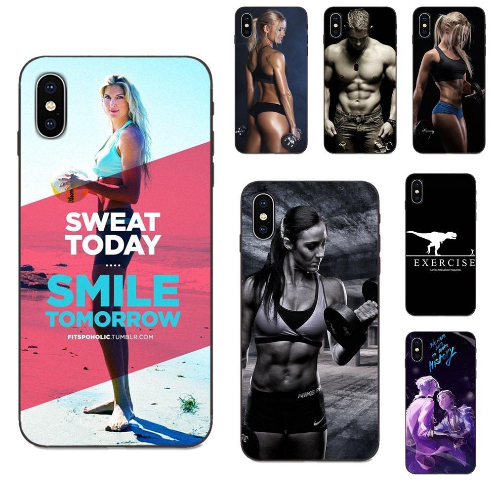 Fitness culturismo motivación hombre chicas para Galaxy A3 A5 A6 A6s A7 A8 A9 A10 A20E A30 A40 A50 A60 A70 A80 A90 Plus 2018