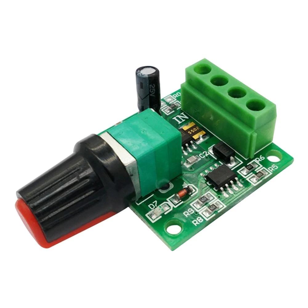 Controlador De Velocidad Del Motor Controlador De Velocidad Del Motor Pwm 0 100 Ajustable 1 8 V 3v 5v 6v 12v 2a Dc Pwm Módulo Regulador Controladores Aliexpress