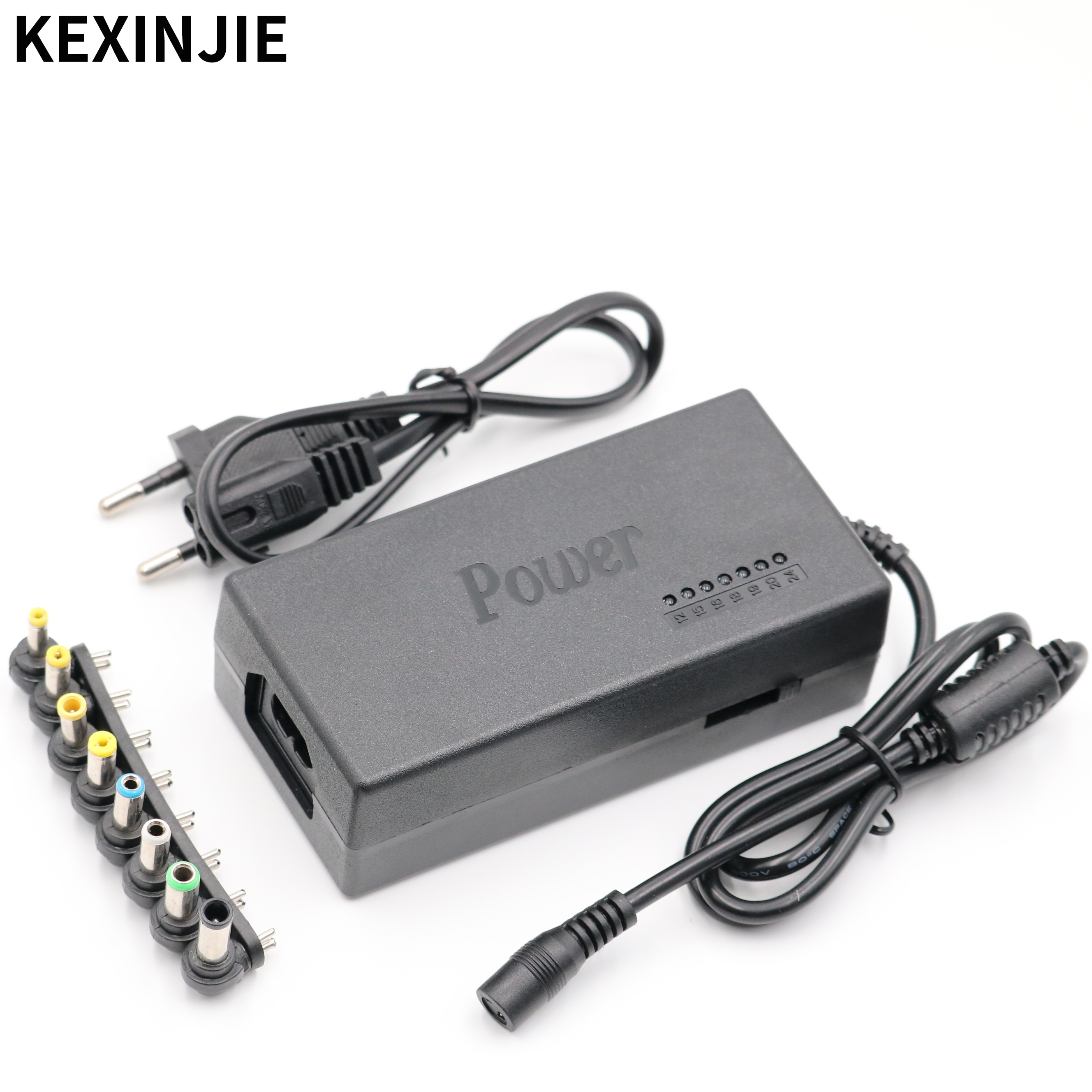 96W Universal Laptop PC Netbook Power Supply Charger 110-220v AC To DC 12V/15V/16V/18V/19V/20V/24V L