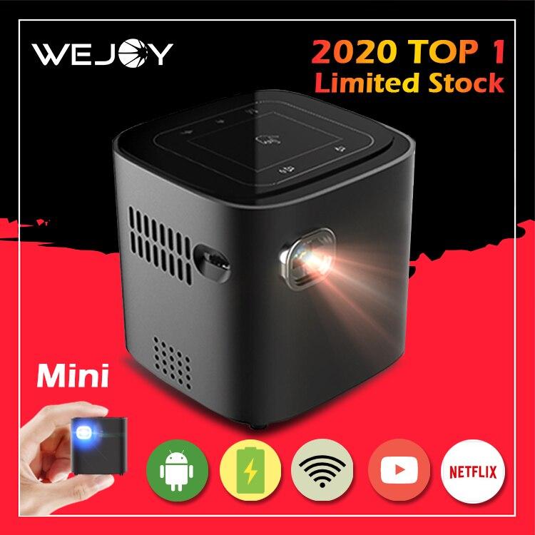 Wejoy-miniproyector de DL-S12 Full HD 4K, dispositivo de proyección de bolsillo para...