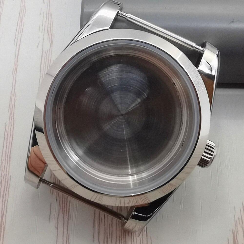 39 مللي متر المحار الأبدي مستكشف إسكان الساعة من الفولاذ المقاوم للصدأ مناسبة للحركات الميكانيكية اليابانية Nh35 Nh36