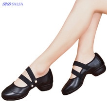 Modern Famels Square Friendship Dance Shoes For Women's Soft Bottom Breathable Jazz Dancing Shoes Sn