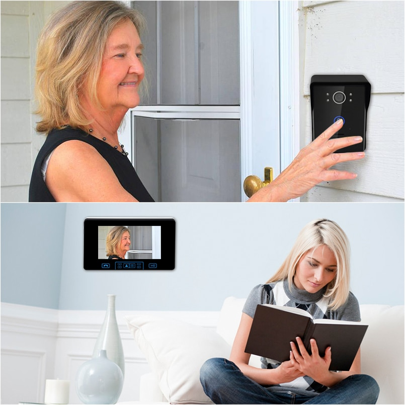 Wireless video Intercom System 7