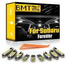 BMTxms Canbus Für Subaru Forester 1998-Präsentieren Fahrzeug LED Innen Licht Lizenz Platte Lampe Auto Beleuchtung Zubehör