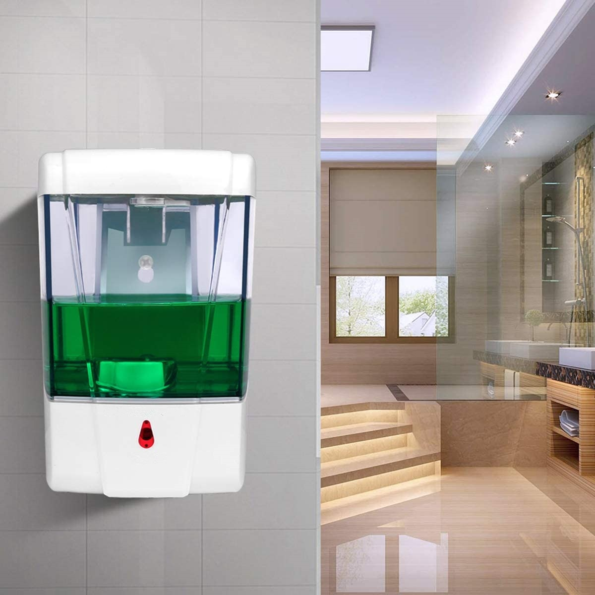 Liquid Soap Dispenser 700ml Wall-Mount Automatic Soap Dispenser Intelligent Touchless Sensor Hand Washer For Bathroom Equipment enlarge