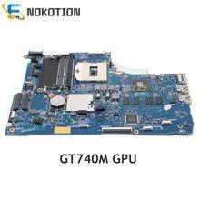 NOKOTION 720566-501 720566-001 749753-001 pour HP ENVY 15 15T-J000 15T-J100 PC Carte Mère GT740M GPU DDR3L