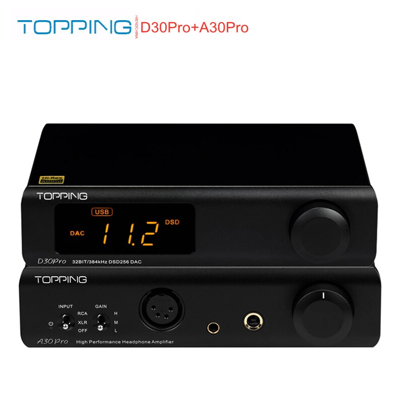 تتصدر D30pro 4 * CS43198 رقائق DAC فك XU208 DSD256 PCM384kHz A30Pro مضخم ضوت سماعات الأذن D30 برو و A30 الموالية مجموعة