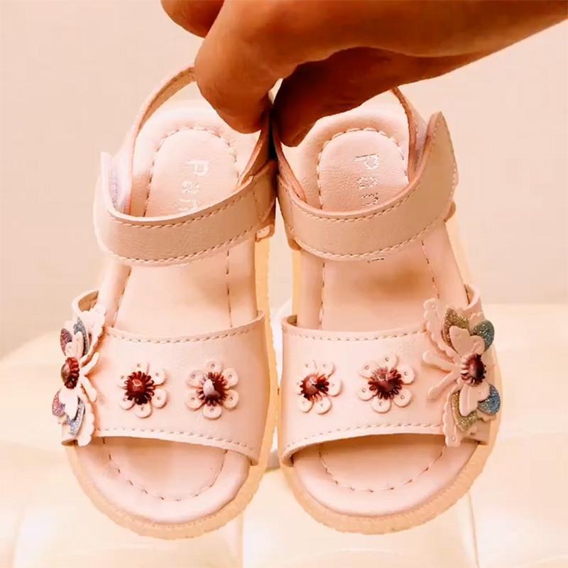 Children's Leather Shoes Spring Autumn New Summer Sandal Fashion Super Soft comfortable Girls Shoes