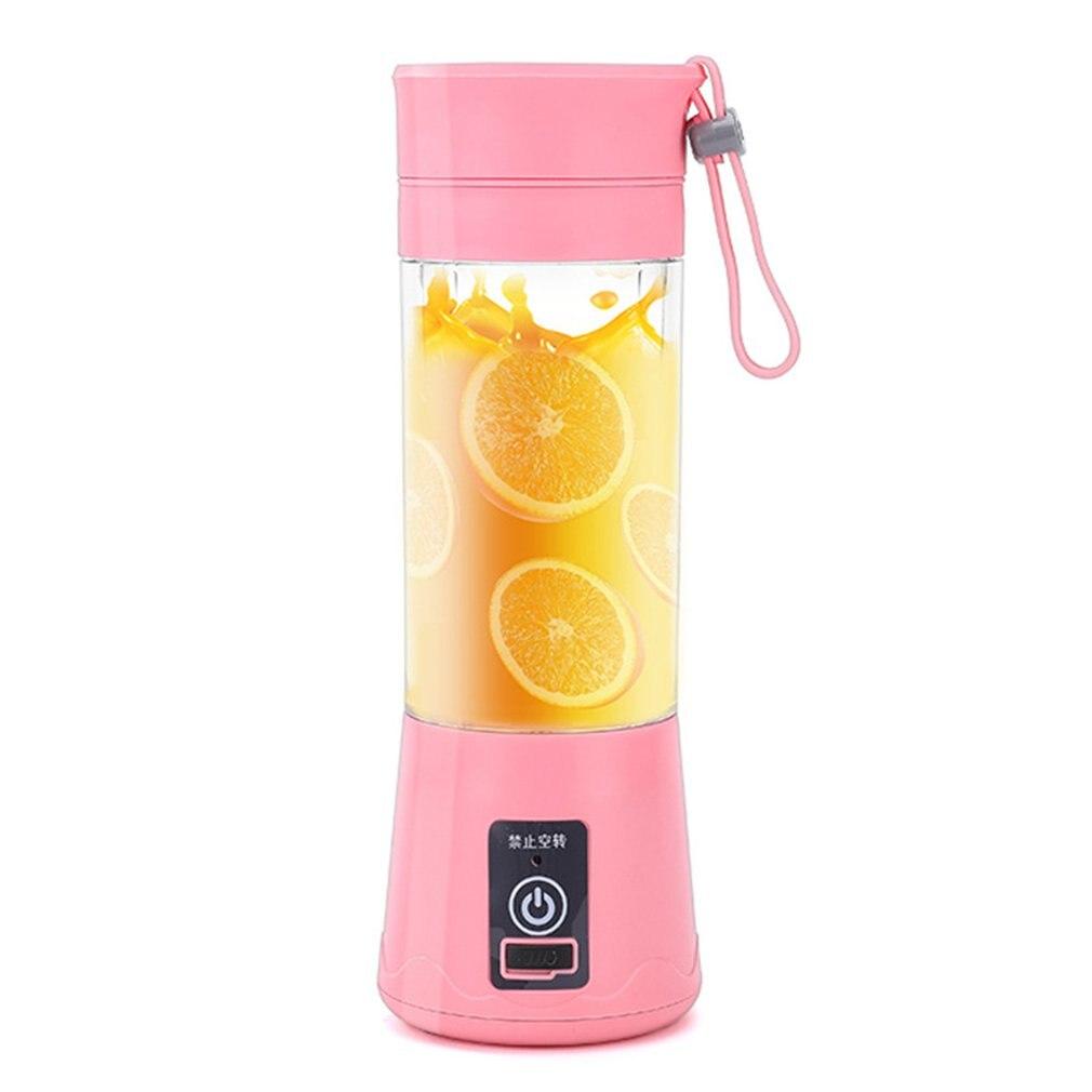 Портативная электрическая соковыжималка, USB электрическая соковыжималка для фруктов, ручная соковыжималка для смузи, USB-Блендер с зарядным ...