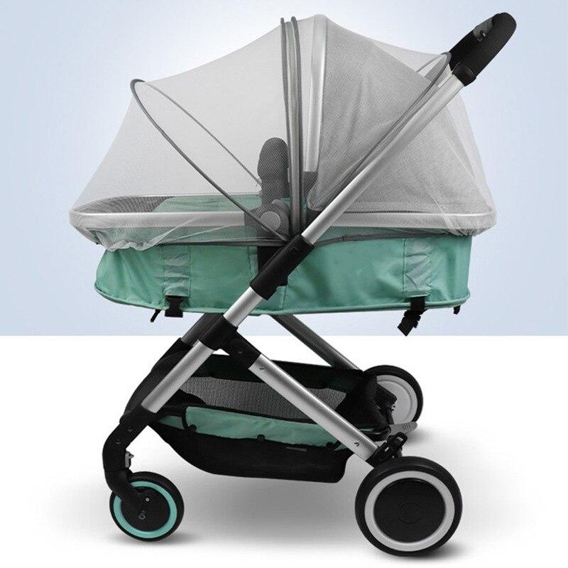 Детские коляски кроватки противомоскитная сетка для коляски летние универсальные молния безопасная сетка от насекомых Защита прогулочная...