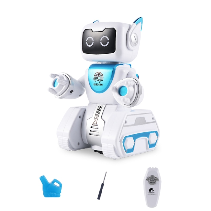Programmable RC Robotic Remote Control Intelligent Robot Touch Sensing Action Figure Child Learning Toy Gift