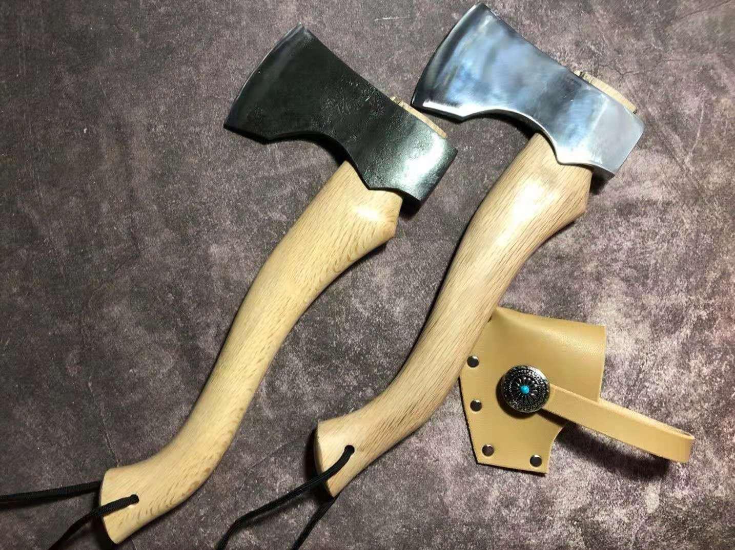 Hand-forged Outdoor Axe Nieman Hand Axe Fosviking Camping Town Homestead Chopping Bone Gift Self-defense Jungle Axe