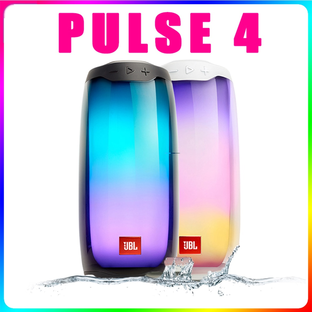 JBL Speaker PULSE 4 Wireless Bluetooth Speakers IPX7 Waterproof Partybox Portable Music Sound Subwoofer Boombox Huawei