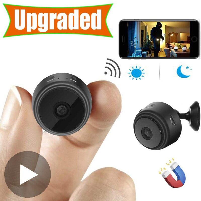 Micro Home-videovigilancia inalámbrica con Sensor de cámara, CCTV, Wifi, IP, infrarrojo, CMOS,...