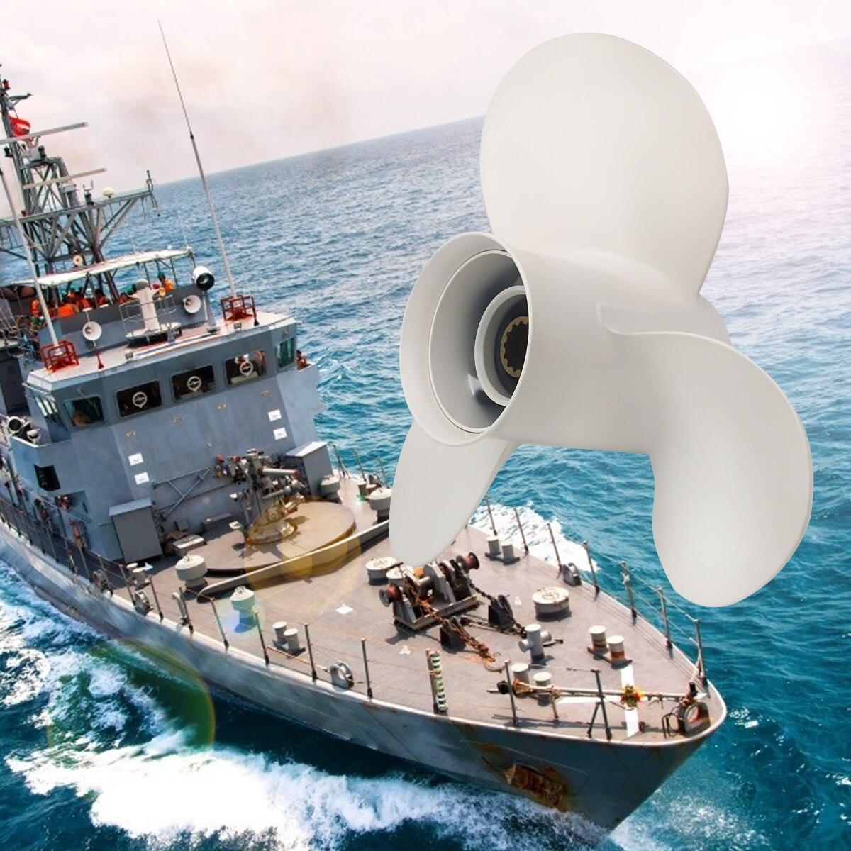 مروحة خارجية 25-60HP ، 11 1/8X13 ، قطع غيار وملحقات قارب المروحة البحرية لياماها 25-60HP 69W-45945-00-EL
