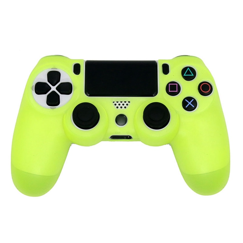 For PS4 Sony Playstation 4 Slim Controller Case Video Game Controller Accessory Soft Silicone Flexib