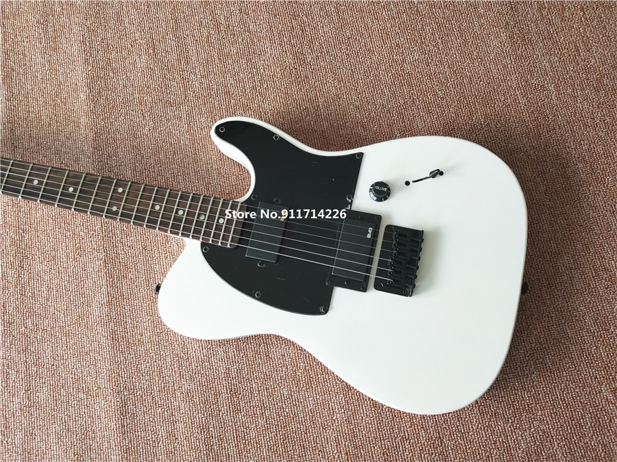 Hot White AS Jim Root Signature Electric Guitar Lock Knobs Rose Wood Fingerboard High Quality Factory Direct enlarge