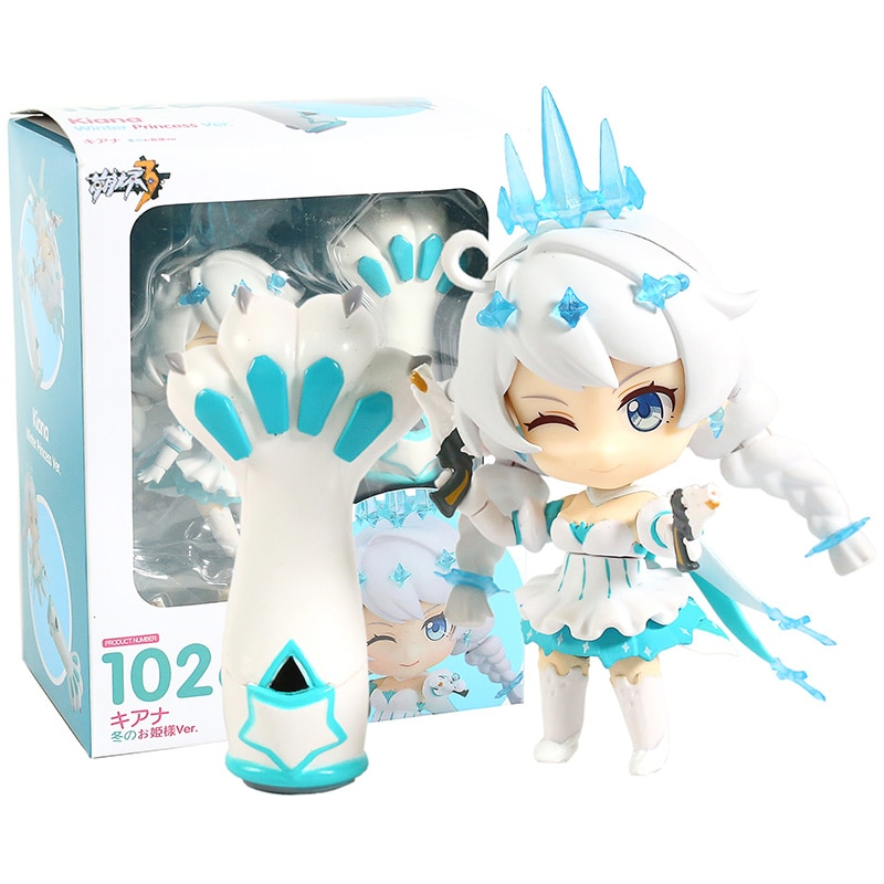 1026 Honkai Impact 3rd Kiana Winter Princess Ver. PVC Action Figure Collectible Model Toy