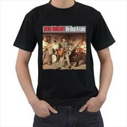 T Shirt novo Be Bop UM Lula Gene Vincent & the Bluecaps 1950s Camisetas    -