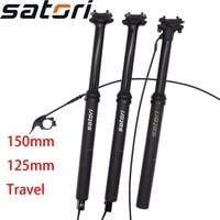 Satori Dropper Seatpost Adjustable Internal Cable Routing sorata pro 150mm travel Remote Control Bike MTB 30.9 31.6mm Seat Post