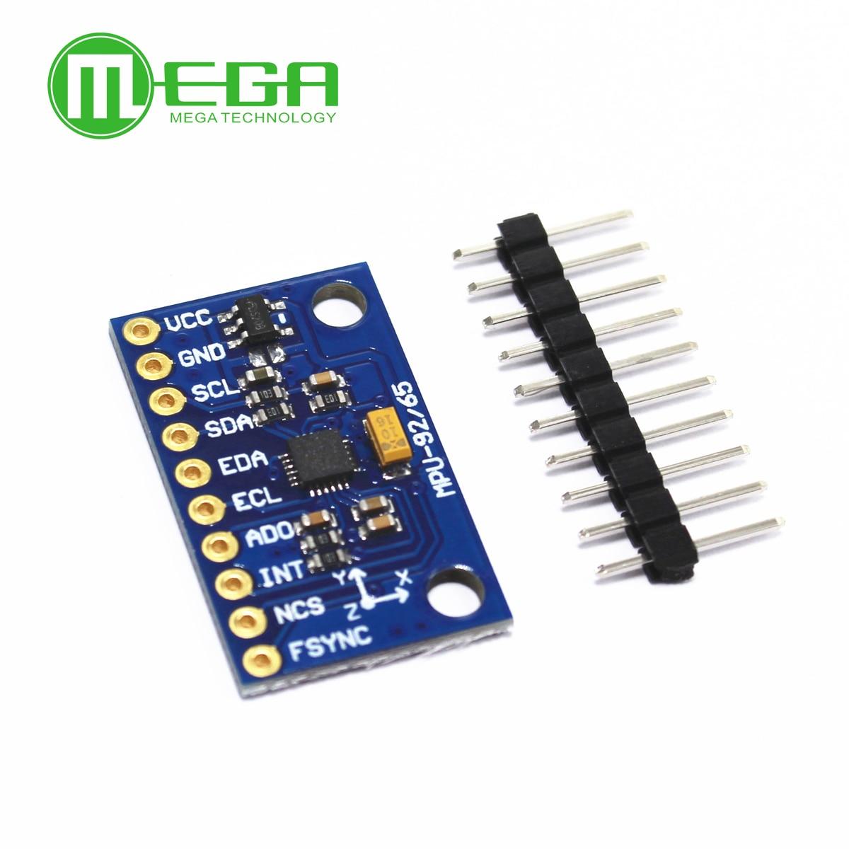 5pcs/lot MPU9255 MPU-9255 Sensor Module Three-axis Gyroscope Accelerometer Magnetic Field GY-9255