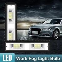 suhu 2x 18w 12v 16led work light bulb spot beam bar car suv off road driving fog lamp waterproof super bright car stylish lights