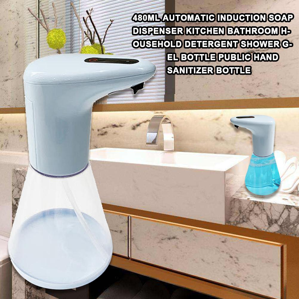 Durable 480ml Automatic Induction Home Hotel Kitchen Bathroom Foaming Soap Dispenser Automatic Induction Dispensers bathroom