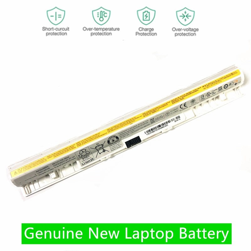 HKFZ branco NOVO Bateria Do Portátil Para LENOVO G400S G405S G410S G500S G505S G510S S410P S510P Z710 L12S4A02 L12M4E01 L12S4E01