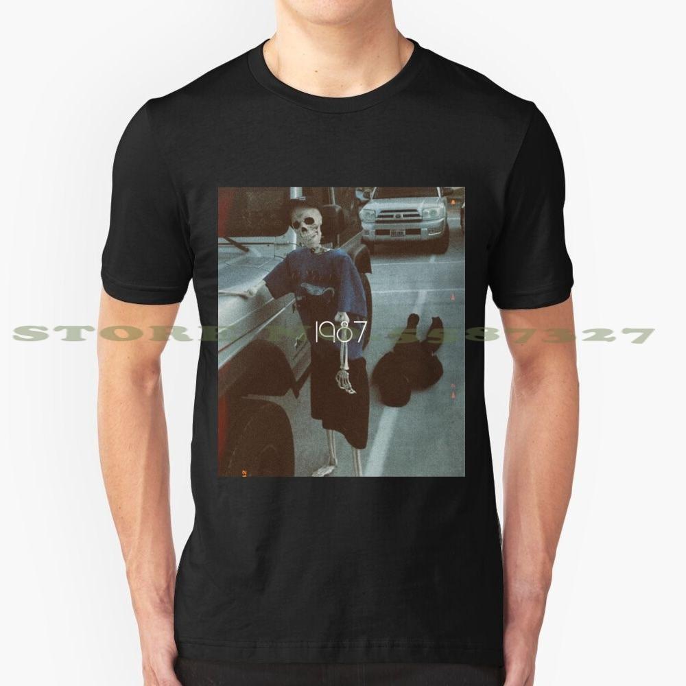 Camiseta Vintage de moda 1987 Mr Bones And Rattles, camiseta gráfica Retro Johnmayer Jeep