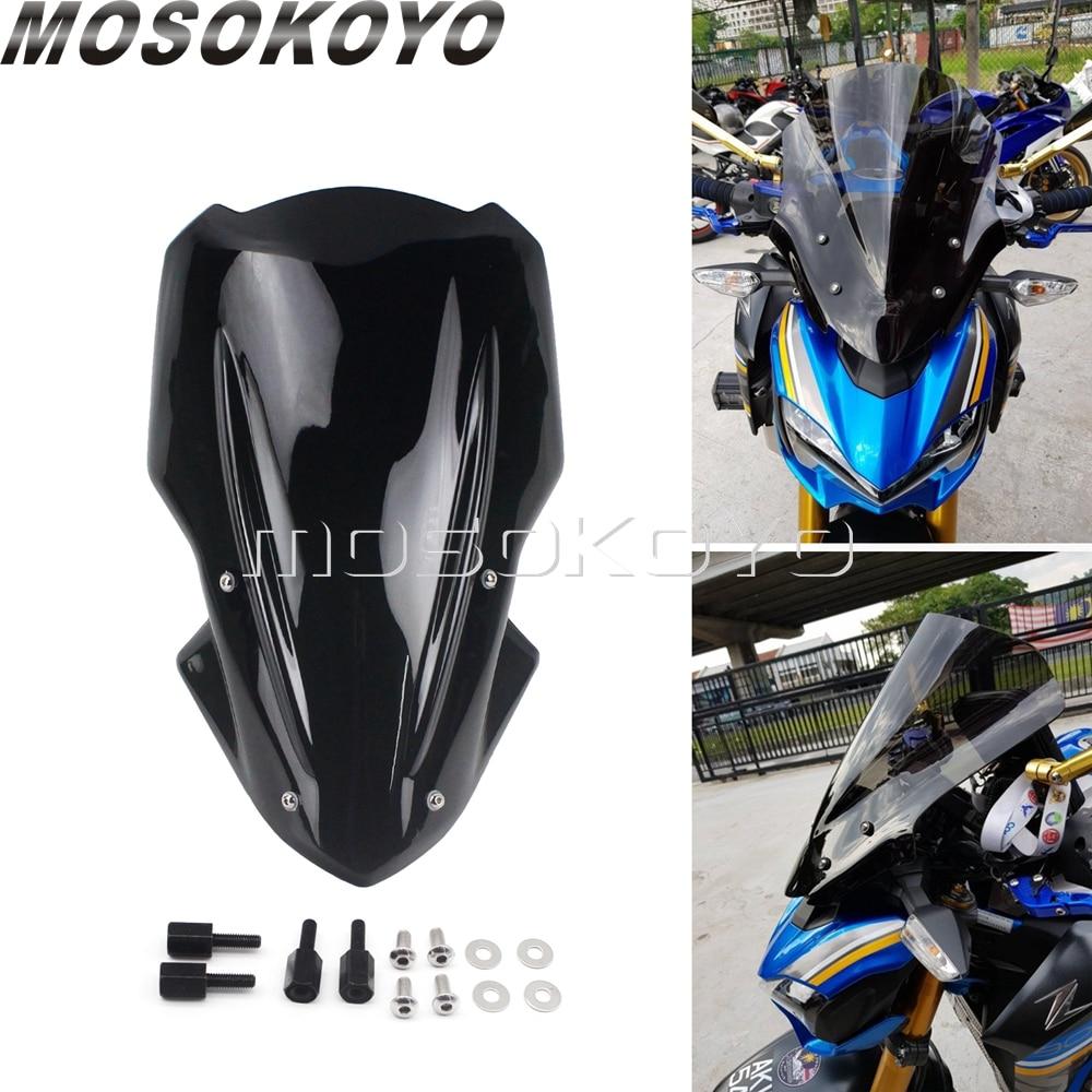 Дефлектор крышки ветрового стекла передней фары мотоцикла для Kawasaki Z900 2017 2018