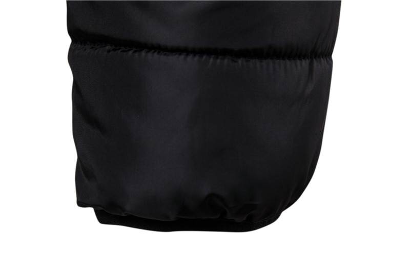 Neperšlampama žieminė striukė, vyriška gobtuvė su gobtuvu, - Vyriški drabužiai - Nuotrauka 5
