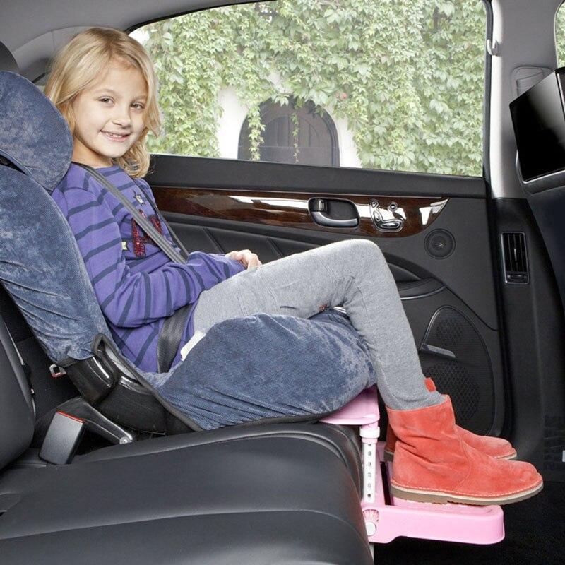 Child Car Safety Seat Stroller Footrest Fasten Support Baby Kids Foot Pedal Rest Holder Adjustable L
