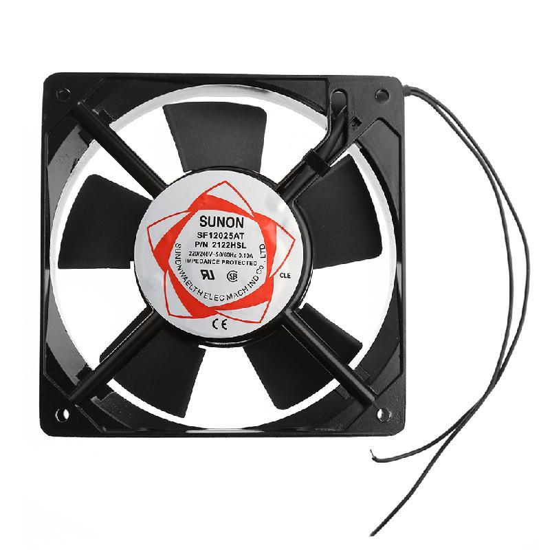 SF12025AT 2122HSL 12025 120mm cojinete de manga 220-240V AC 2-funda para cables ventilador de refrigeración 27RB