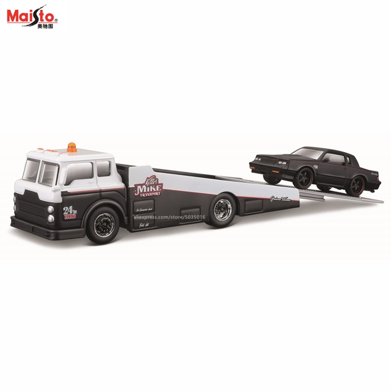 Maisto 1:64 1987 Buick Grand Элитный транспорт, Коллекционная модель автомобиля из литья под давлением, Подарочная игрушка