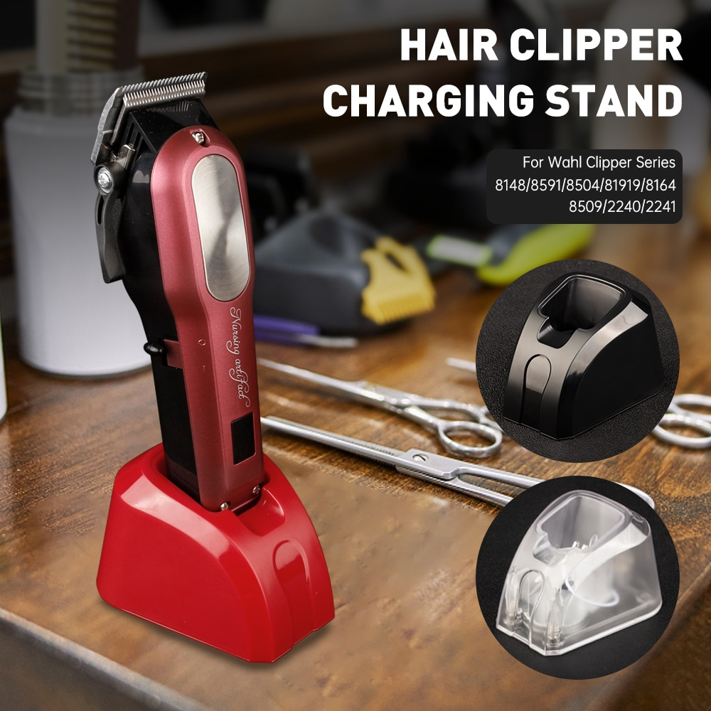 CestoMen Hair Clipper Charging Stand Electric Trimmer Charging Base Dock Barber Accessories Suitable For Many Wahl Machines enlarge