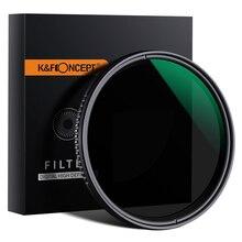 K & F Concept ND8-ND2000 filtre ND Variable 49mm 62mm 67mm 72mm 77mm nano-x Fader filtre à densité neutre pour Canon Nikon Sony