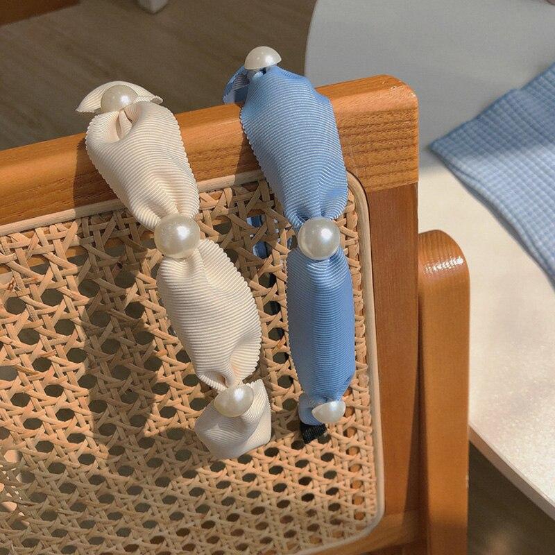 Пластиковые повязки для волос для женщин, аксессуары для волос, дизайнерские обручи, свадебные жемчужные повязки на голову, аксессуары для ...