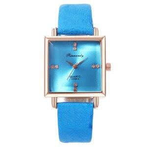 Women Watch Fashion Casual Square Diamond Watch Ladies Square Watch Belt Quartz Watch Watches For Women Casual Watch For Women