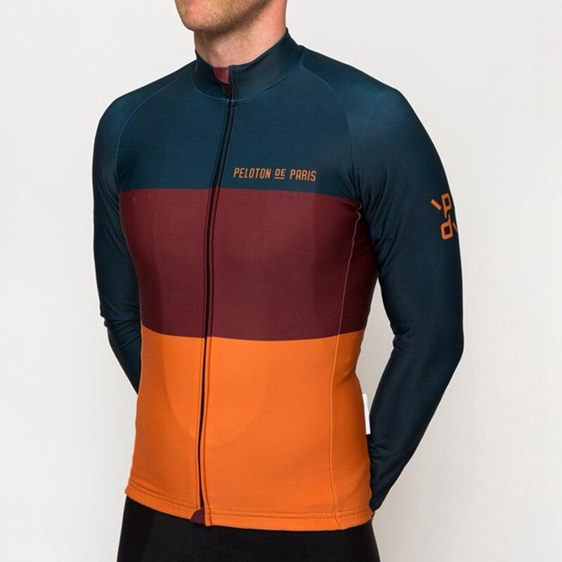 RCC RAPHP-Ropa térmica de lana de manga larga para invierno, maillot de...
