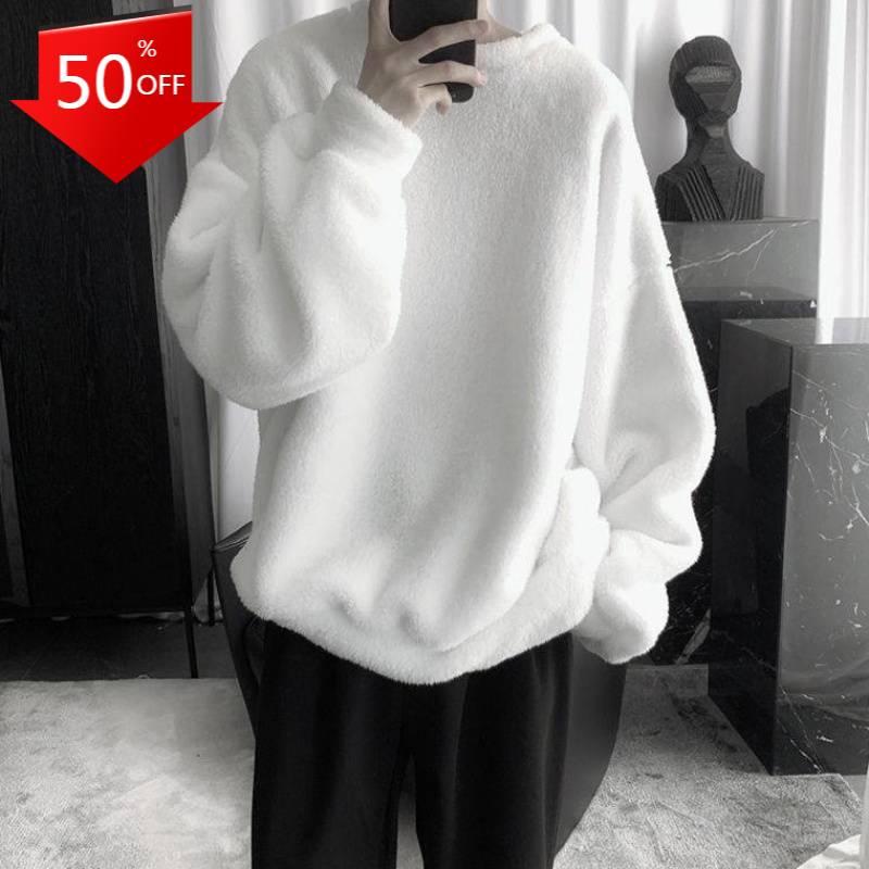 Осенне-зимние пальто, однотонная Милая Женская толстовка с капюшоном в стиле Харадзюку, Свободная Повседневная теплая Женская толстовка