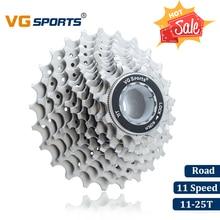 VG Sports vélo de route 11 vitesses Cassette 11 Velocidade 11 S 25T pièces de vélo Cassete roues libres pignons Cog Cdg ultraléger 274g