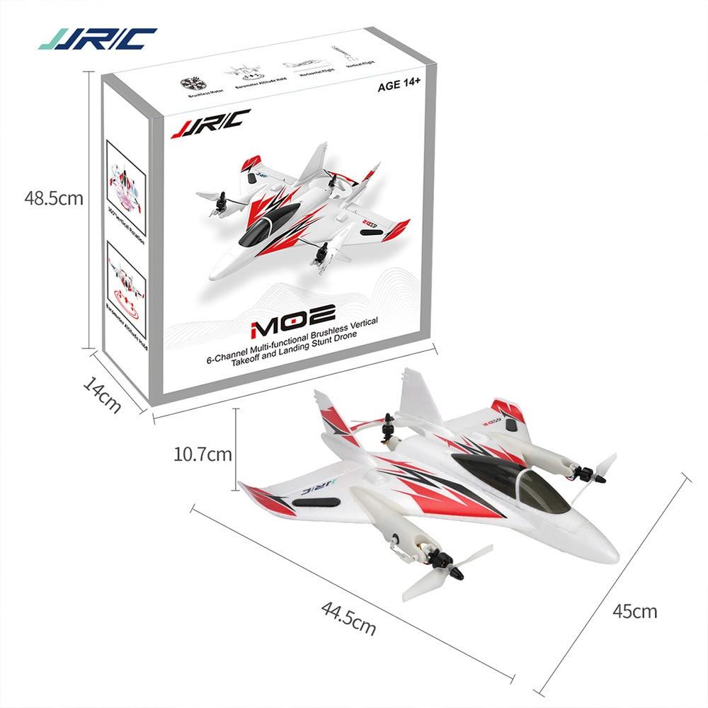 Original JJRIC M02 2.4G 6CH Brushless 6-Axis Gyro Stunt RC Aircraft Multifunctional 3D / 6G Stunt Aircraft